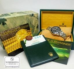 Negozio numismatica Milano acquisto orologi