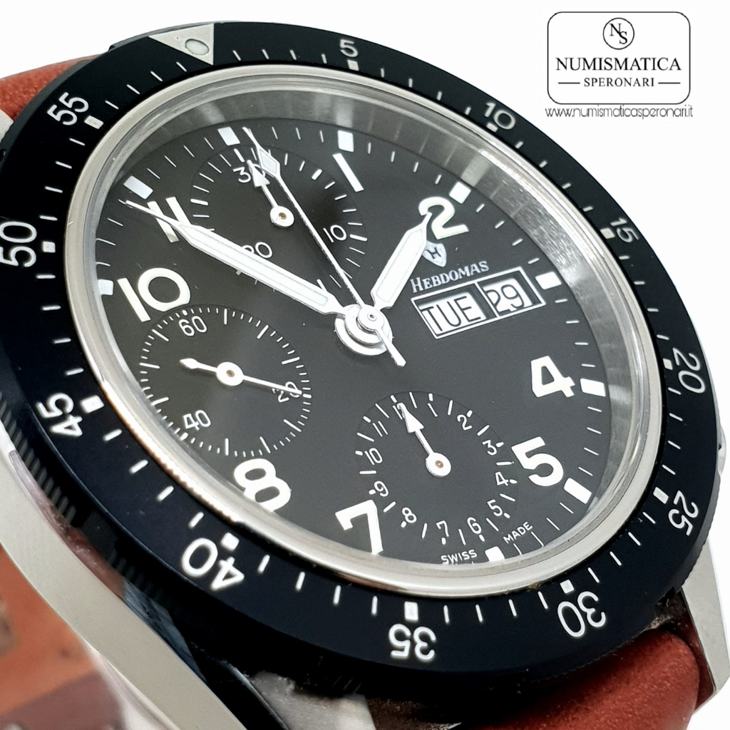 Hebdomas Chronograph Vetro zaffiro