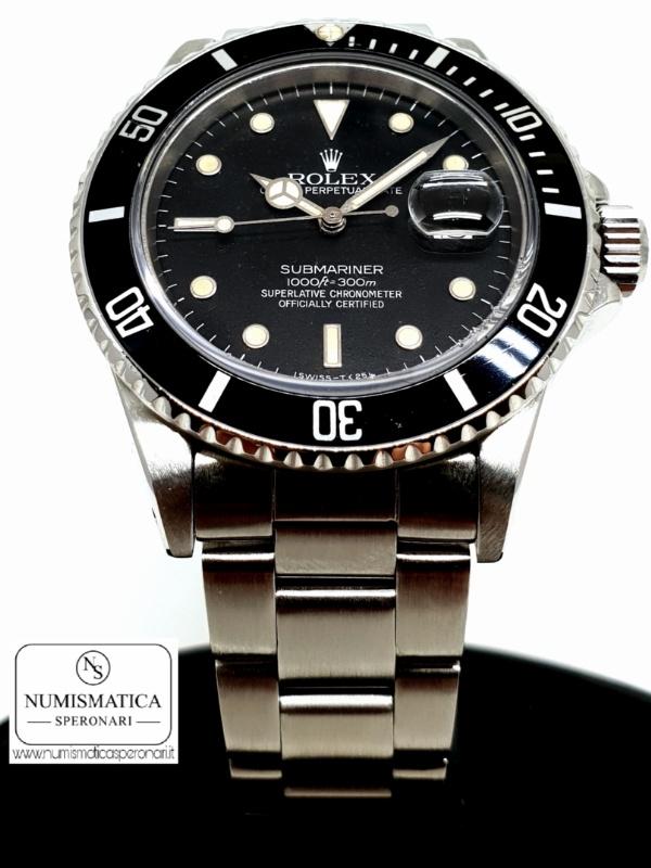 Rolex Submariner 168000, Numismatica Speronari, via Speronari 7 MIlano, www.numismaticasperonari.it