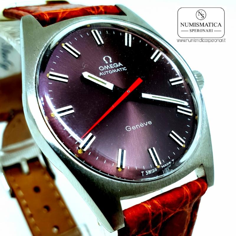 Omega Geneve Automatic purple dial