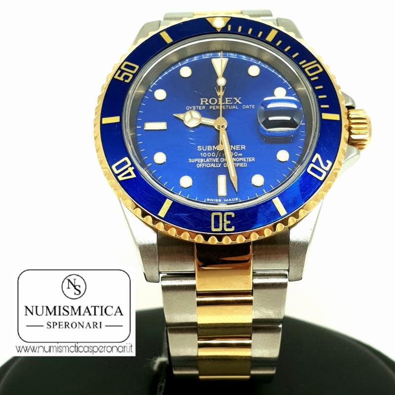 Rolex Submariner 16613 acciaio e oro, Numismatica Speronari, via Speronari 7 Milano, www.numismaticasperonari.it