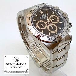 Orologi usati MIlano Rolex Daytona 16520, numismatica Speronari, Via Speronari 7 Milano.