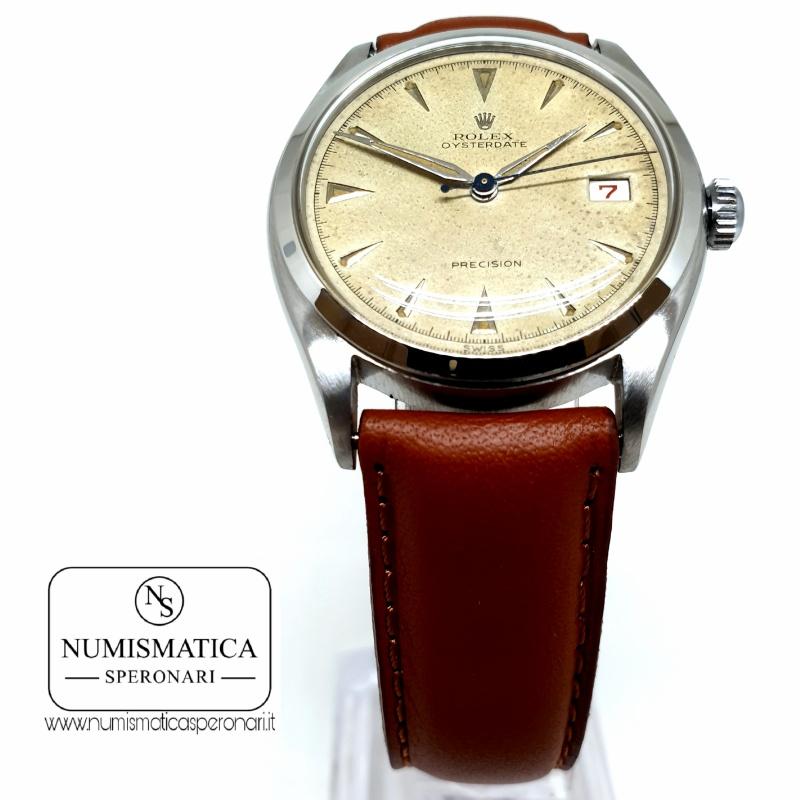 Rolex Precision Ref. 6094, Numismatica Speronari, via Speronari 7 Milano