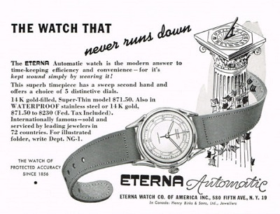 eterna advertising