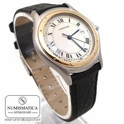 orologi-usati-milano-cartier-cougar-187904-numismatica-speronari-via-speronari-7-milano
